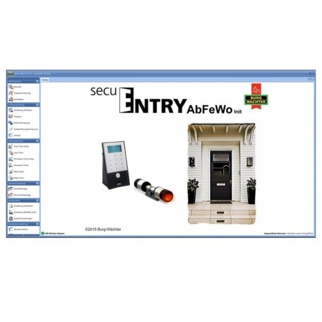 SecuENTRY pro AbFeWo Software