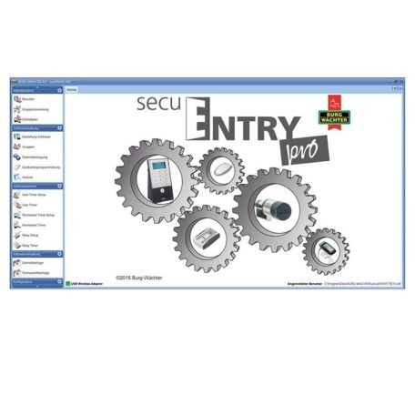 SecuENTRY pro 7083 System Software